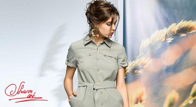 61133eb5b470 Швейное предприятие «Шарм-арт» - Женская одежда - Каталог статей - Мега  Модный Каталог